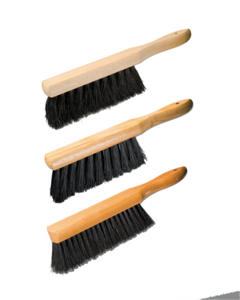 Counter Brushes - wood block