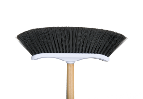 Curved Magnetic broom